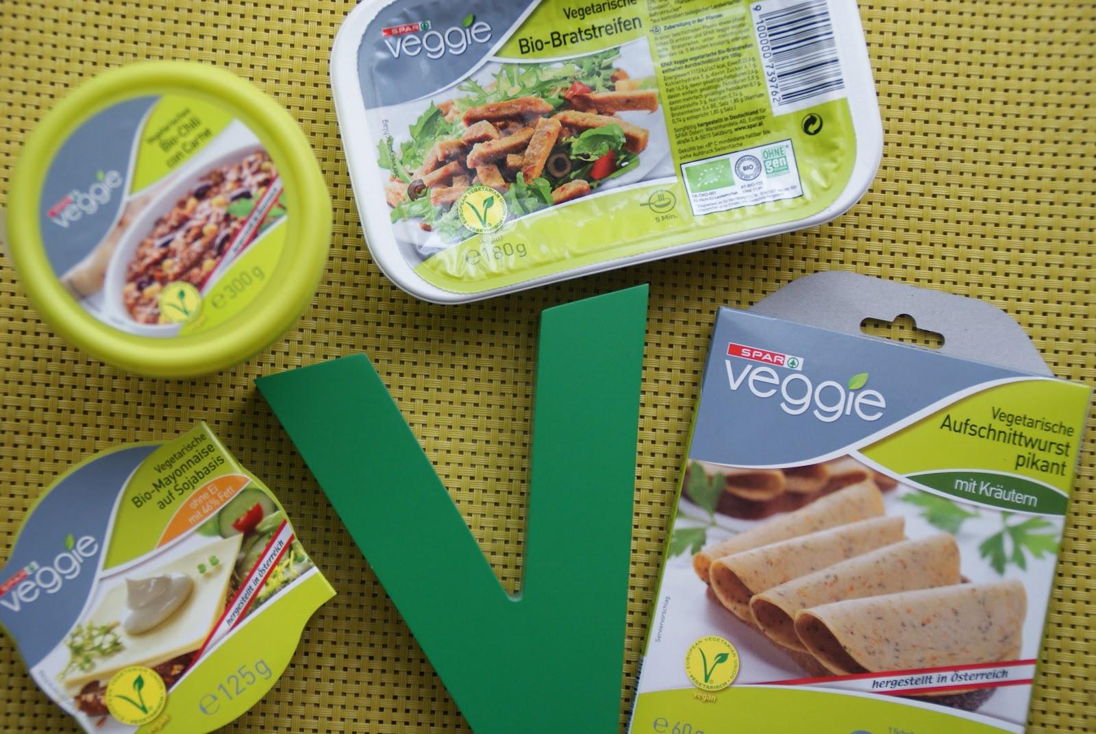spar veggie vegan einkaufen im supermarkt. Black Bedroom Furniture Sets. Home Design Ideas