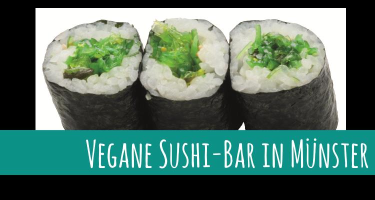 Vegane Sushi-Bar in Münster