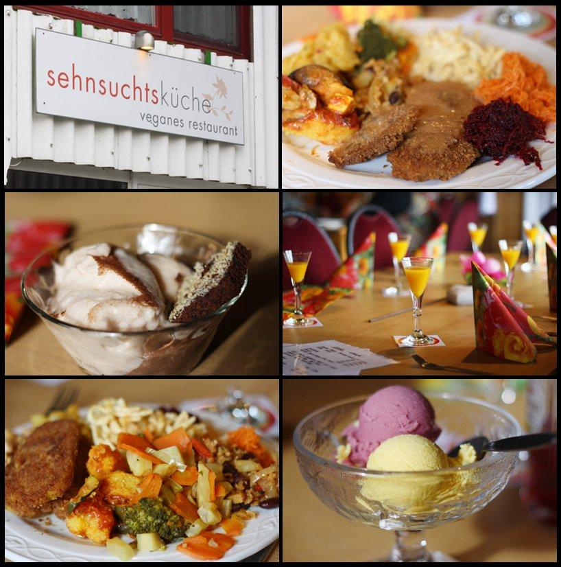Restaurant Sehnsuchtsküche in Mühlacker - Deutschland is(s)t vegan
