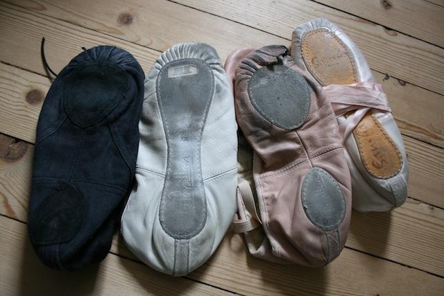 Vegane Schuhe, Balletschuhe