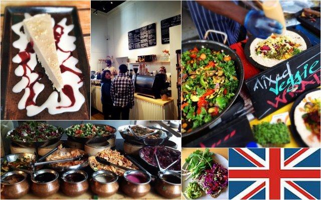 Vegane Restaurants in London. Hier ein paar Tipps für den Besuch in der englischen Hauptstadt