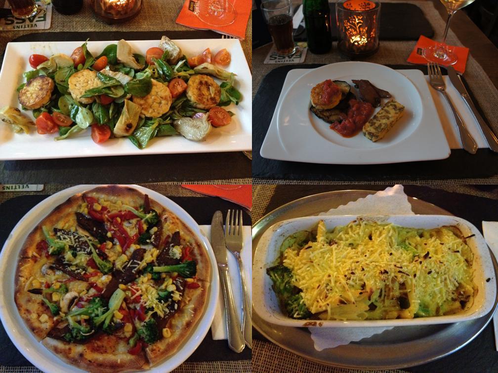 La Piazza Toscana, vegane Gerichte