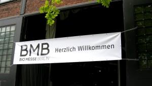 Biomesse Eingang