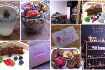 Im Yam vegan Deli in München kann man wunderbar vegan essen