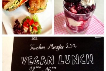 Veganer Lunch im Moon
