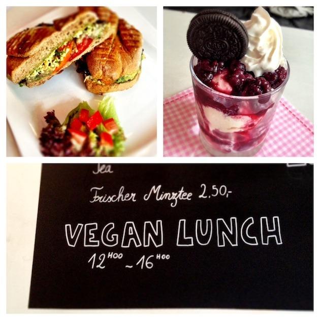 Veganer Lunch im Moon
