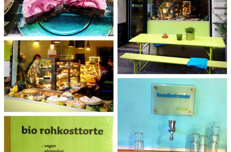 Rohkosttorten und vegane Kuchen im back.art in Berlin Kreuzberg