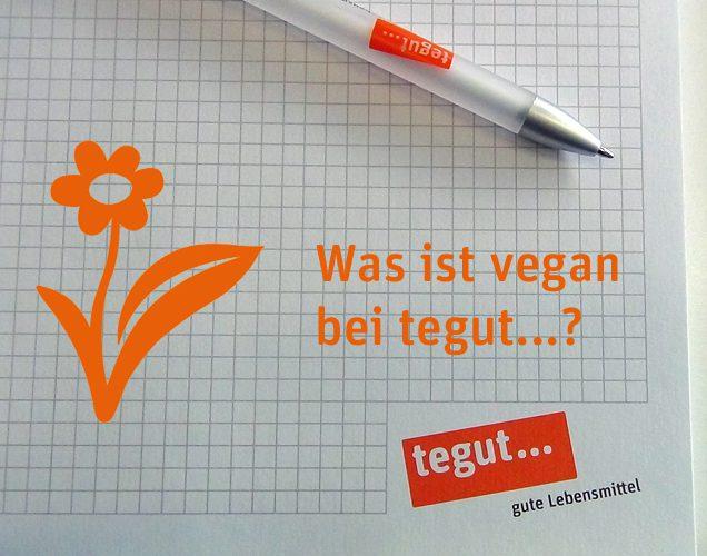 Tegut vegane Liste