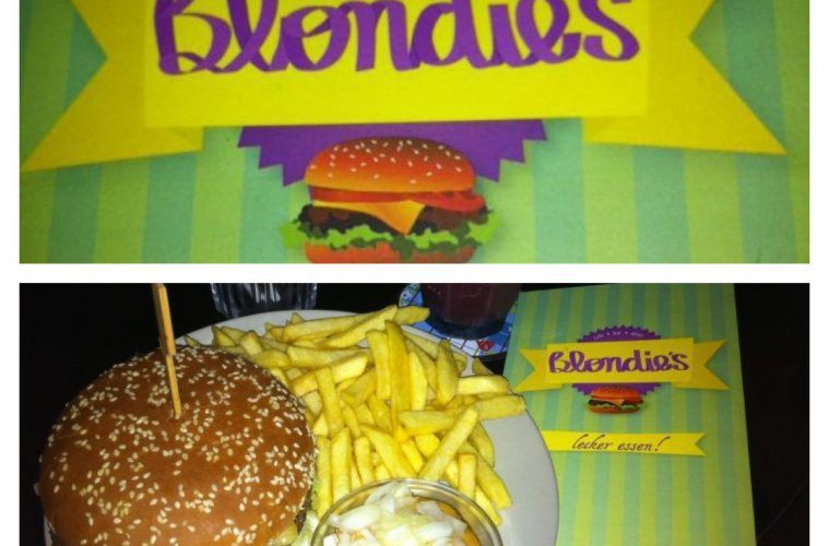 . Leckere Bio Burger in l ssiger Wohnzimmer Atmosph re  Das Blondies