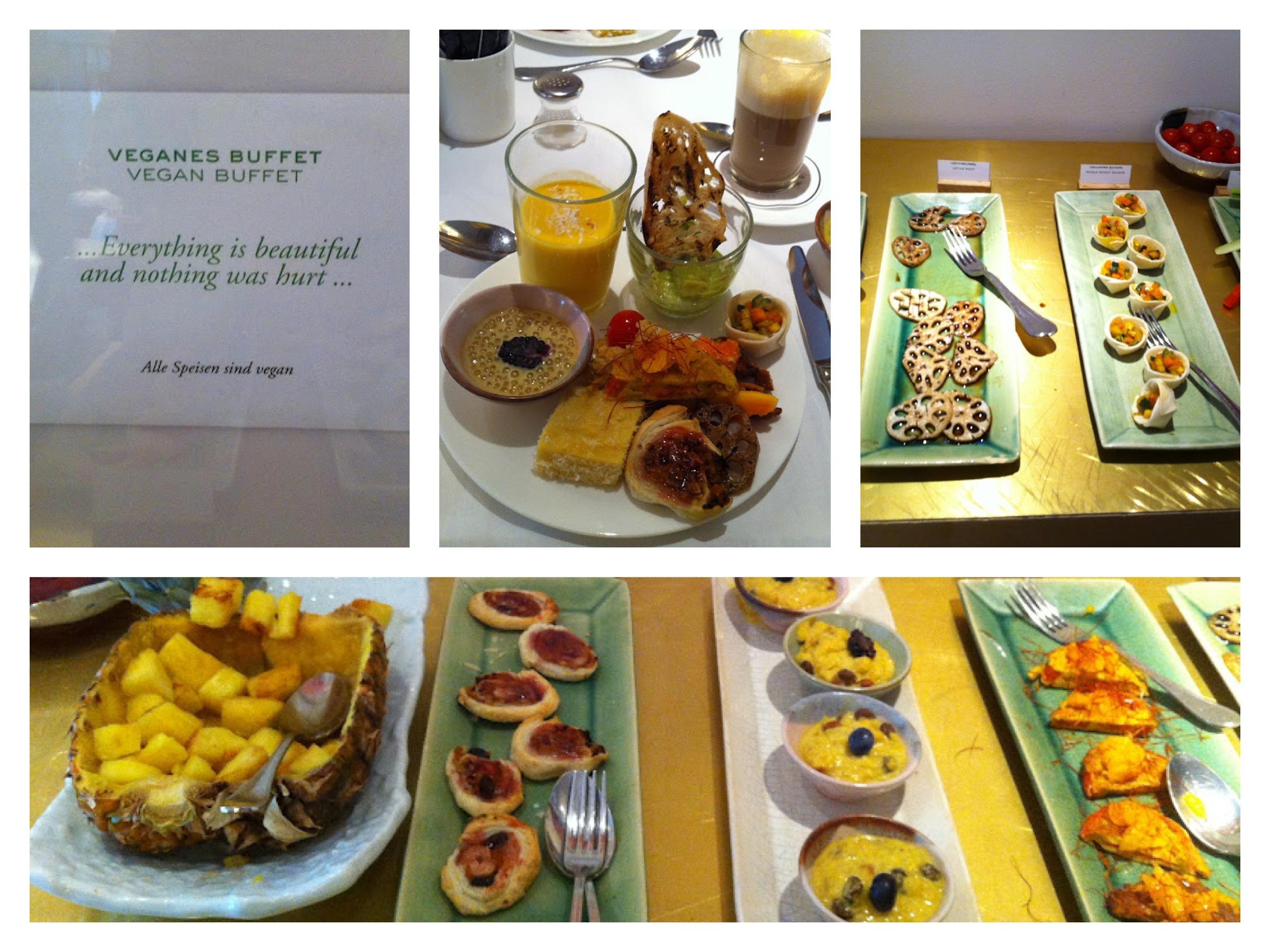 super veganes fr hst cksbuffet im louis hotel in m nchen. Black Bedroom Furniture Sets. Home Design Ideas