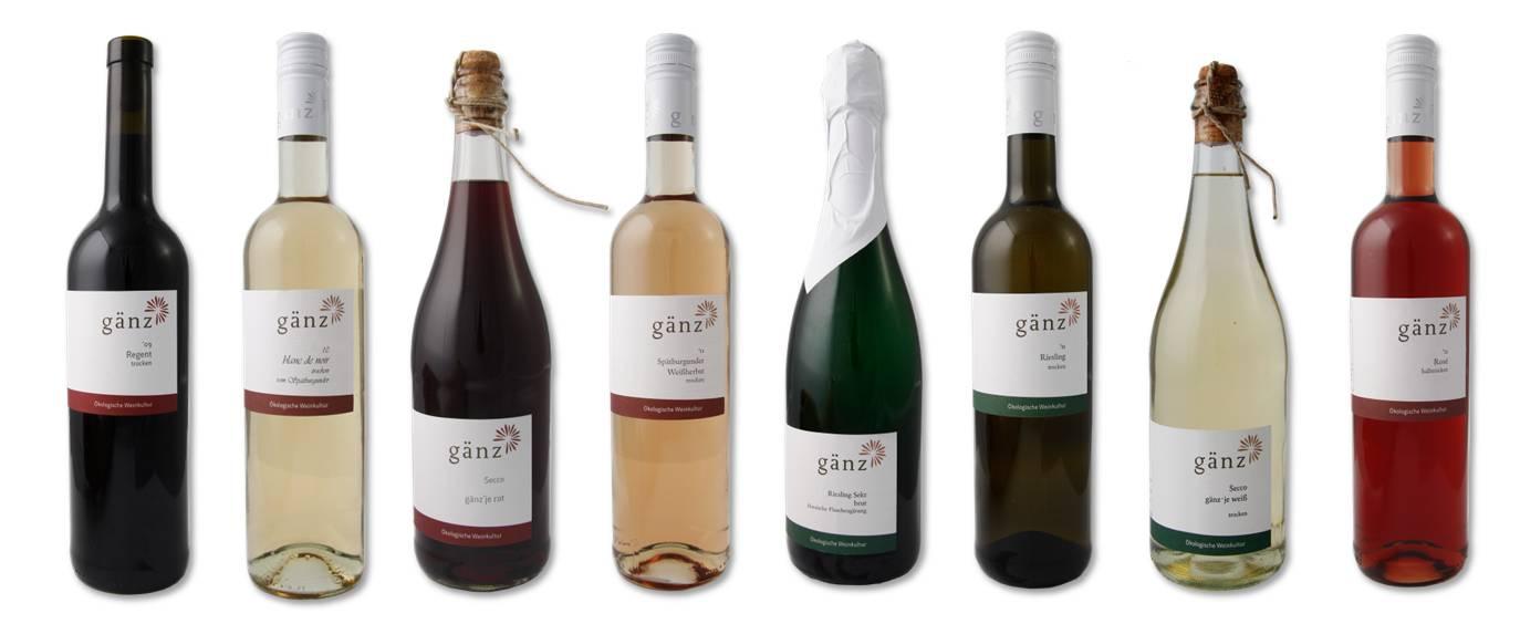 Gänz Weinkollektion