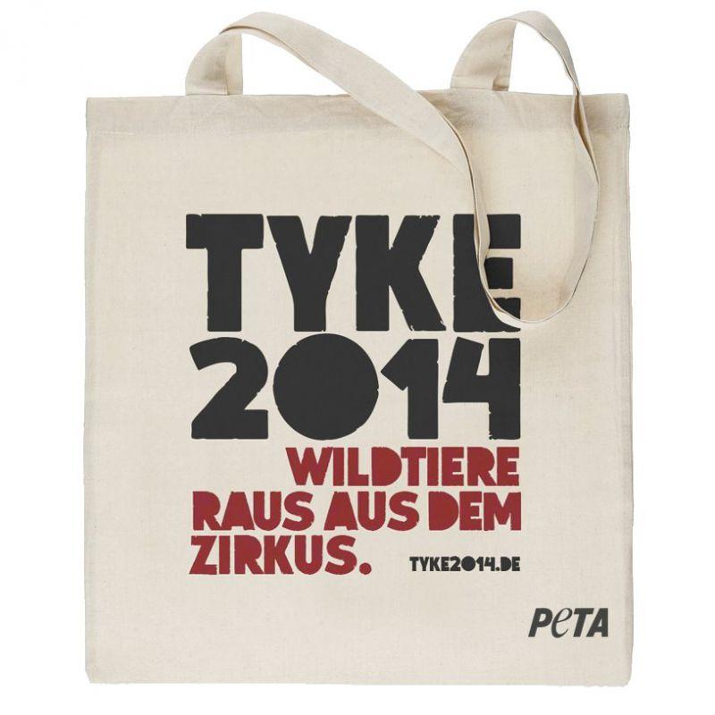 PETA Deutschland Tyke2014 Tasche