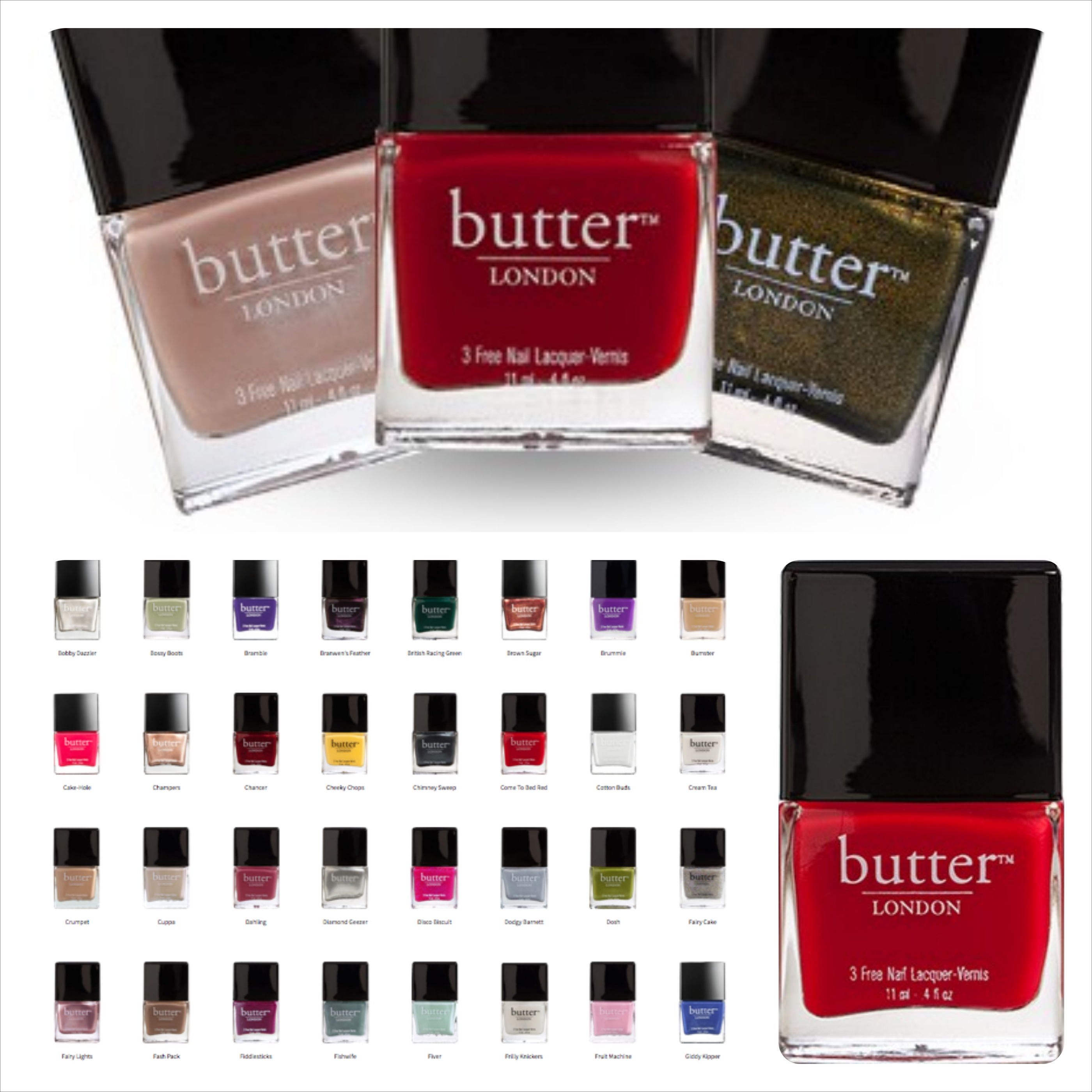 Veganer Nagellack von butter London