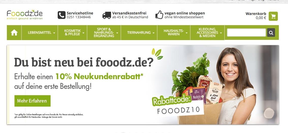 Vegan online shop europe