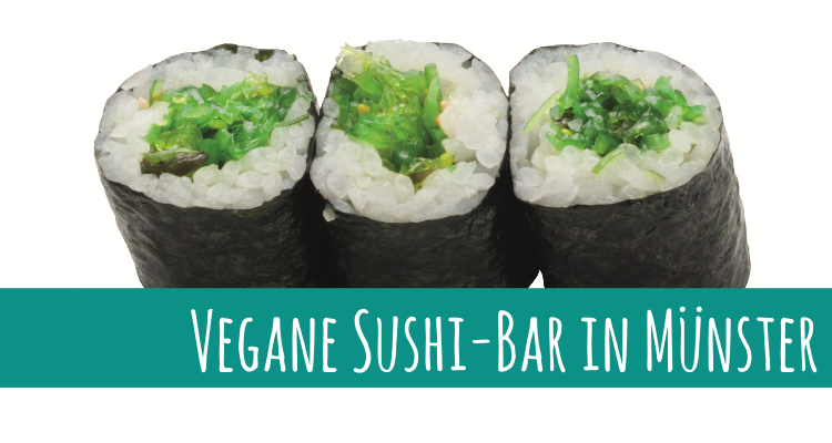 Vegane Sushi-Bar in Münster