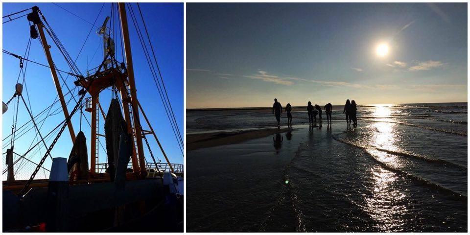 Texel Hafen und Strand