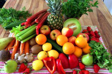 Obst und Gemueseauswhal