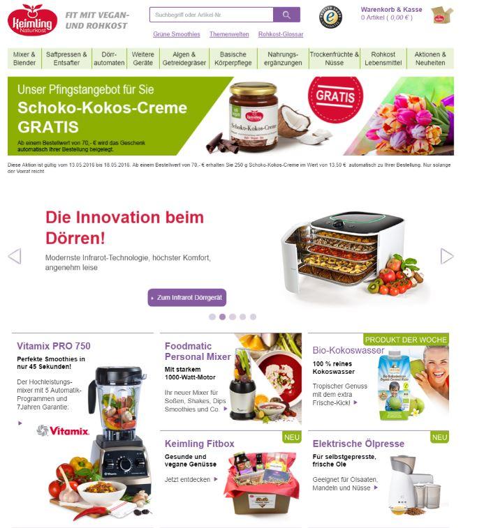 Website Keimling