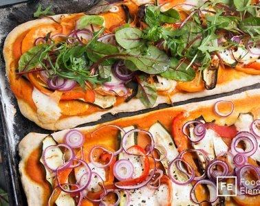 vegane Pizza FoodElements