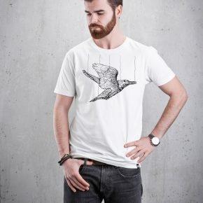 veganes T-shirt für Mann