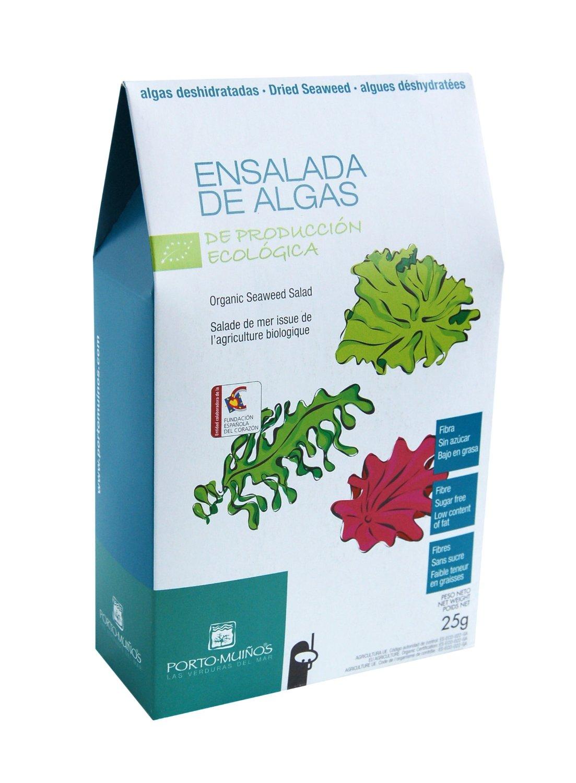 Salatmischung aus dreierlei Algen
