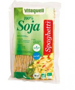 In der Low-Carb Ernährung stellen Nudeln aus Soja eine willkommene Alternative zur herkömmlichen Pasta aus Weizen dar.