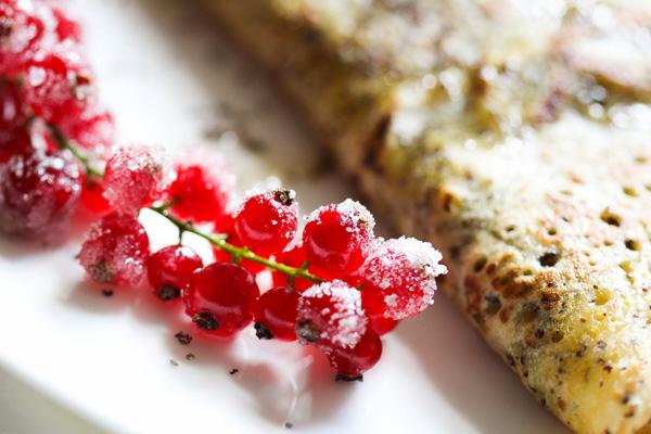 Ribisel mit Zucker