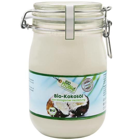 Kokosöl aus biologischem Anbau