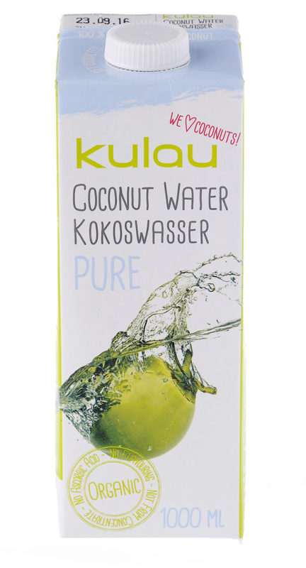 Bio-Kokoswasser von Kulau