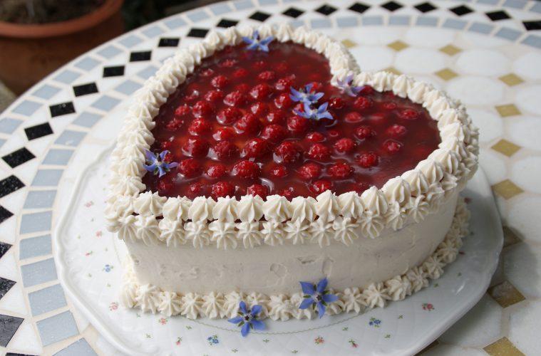 Himbeer Frischkase Torte Rezept Deutschland Is S T Vegan