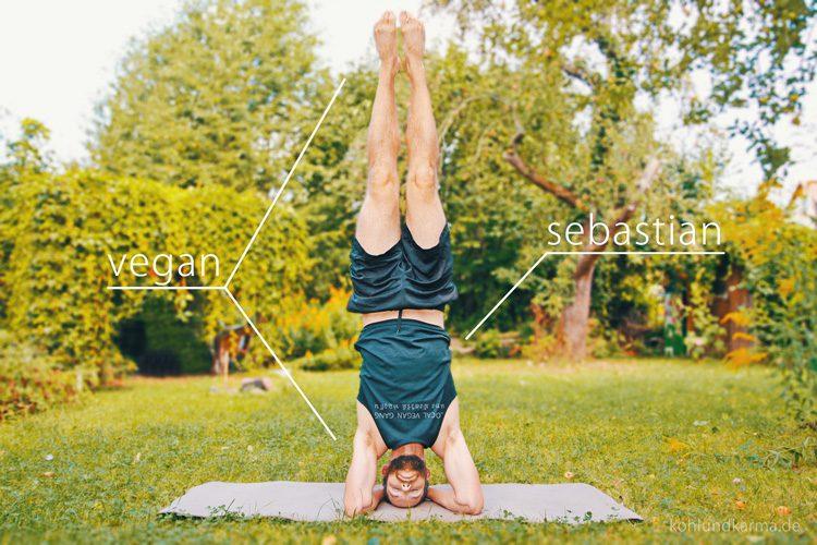 Sebastian Yoga - Vegan sein - Das Bewusstsein ändert sich: Gesundheit/Fitness - kohlundkarma