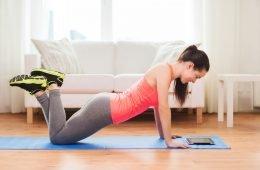 Sportübung push up