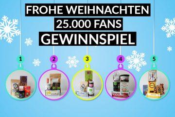 Weihnachten Deutschland is(s)t vegan Gewinnspiel