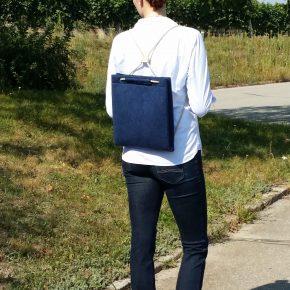 Study Bag Navy A