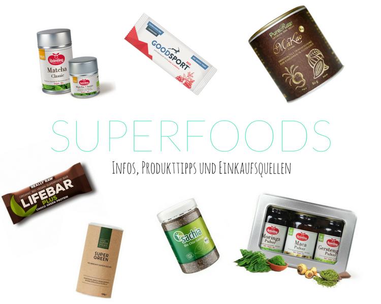Vegane Superfoods Tipps