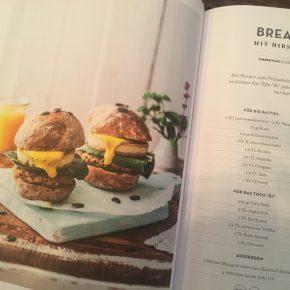 Vegan Frühstücken Burger