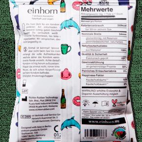 Einhorn Kondome Verpackung