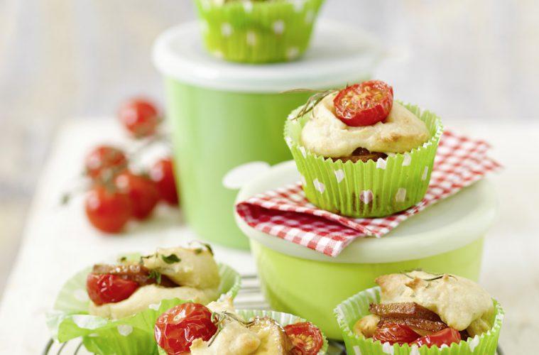 vegane Tomatenmuffins