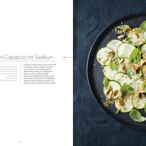 Vegan cuisine Rezept Carpaccio