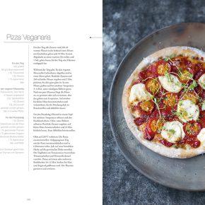 Vegan cuisine Rezept Pizza