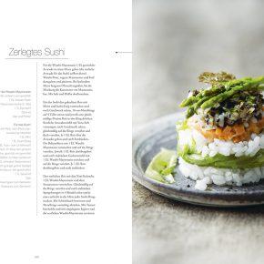 Vegan cuisine Rezept Sushi