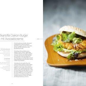 Vegan Cuisine Rezept Burger