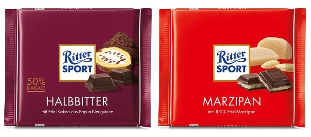 vegane Schokolade von Ritter Sport