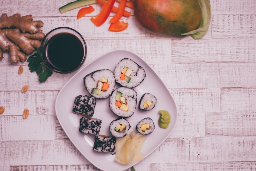 veganes sushi gesund lecker selbst rollen deutschland is s t vegan. Black Bedroom Furniture Sets. Home Design Ideas