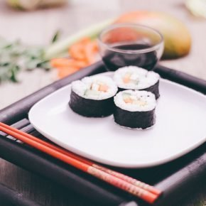 Selber veganes Sushi machen