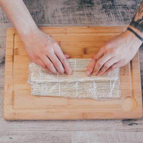 Veganes Maki Sushi selbstgemacht