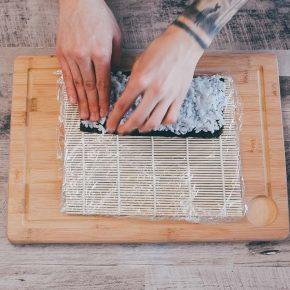 Veganes Sushi einfach selber machen