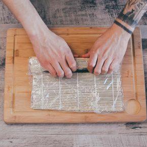 Veganes Sushi selber rollen