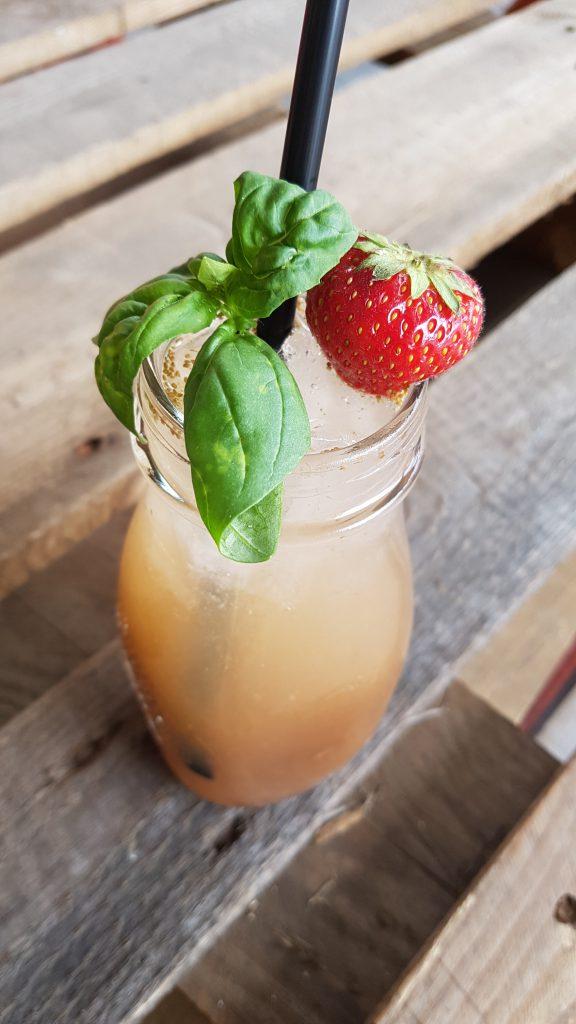 Erdbeerlimonade Erfrischungsgetränk