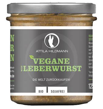 Vegane Leberwurst Brotaufstrich